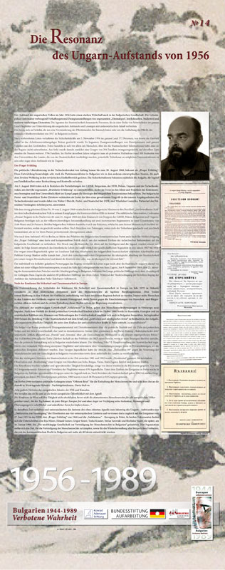 14 - Die Resonanz des ungarischen Aufstandes