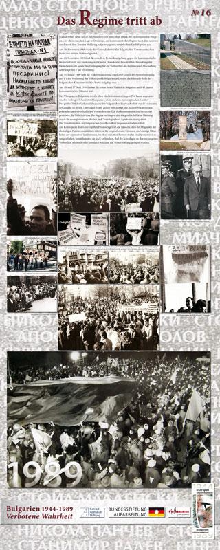 16 - Das Regime tritt ab