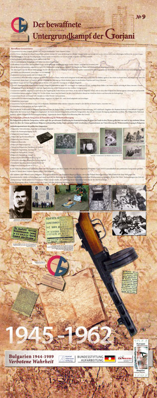 9 - Der bewaffnete Untergrundkampf der Gorjani