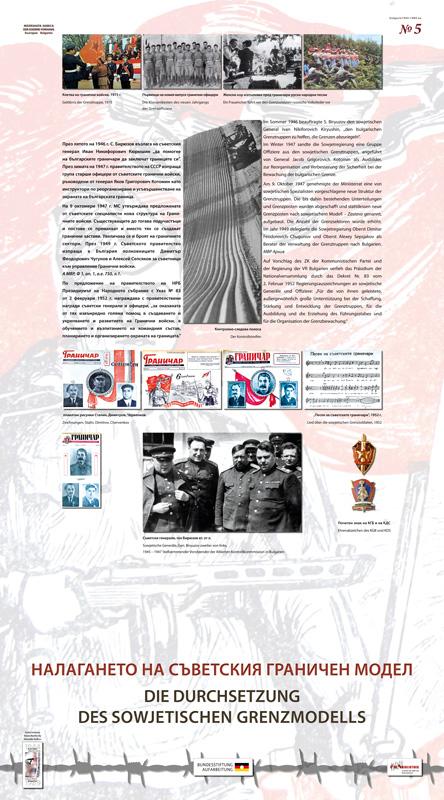 Die Durchsetzung des sowjetischen Grenzmodells